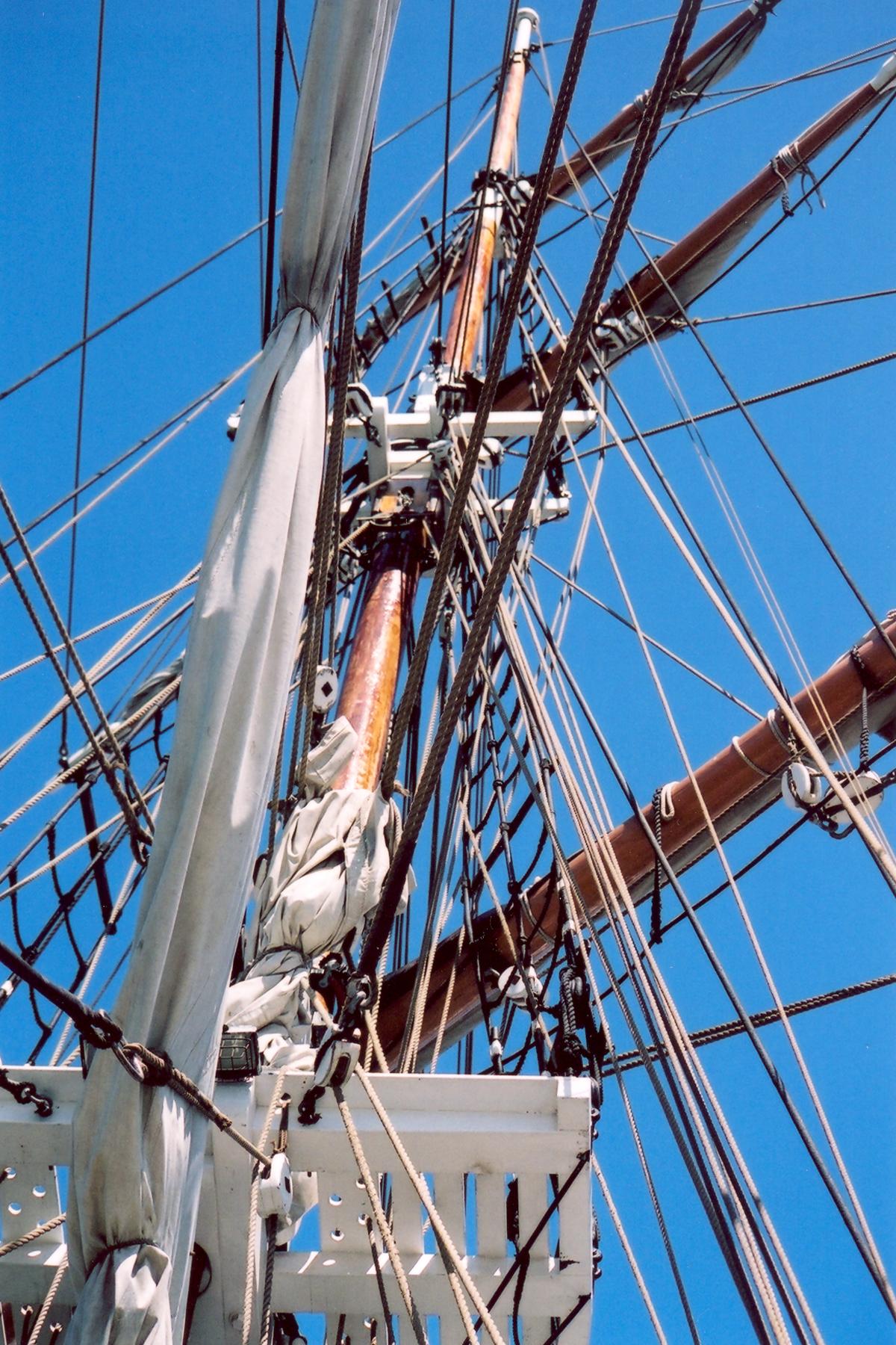 Rigging the Ship's Mast