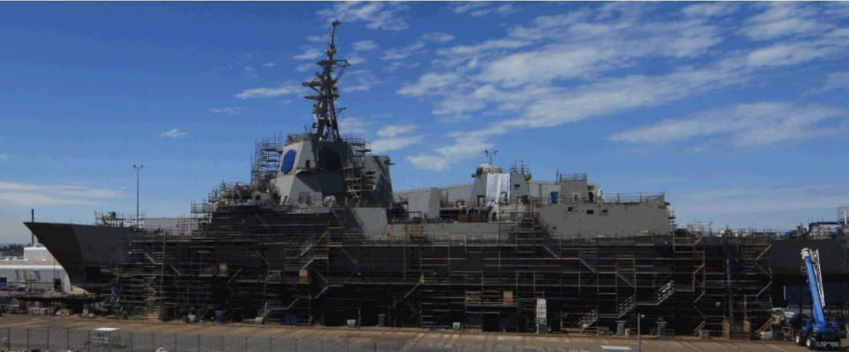 Air Warfare Destroyer under Construction